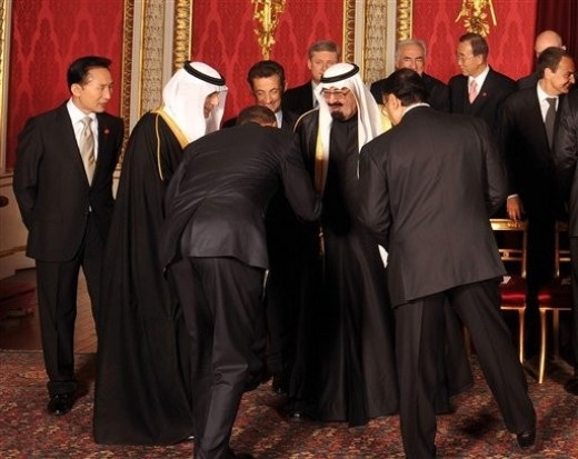 No Israel Trip, But Barry Will Bow To This Saudi King