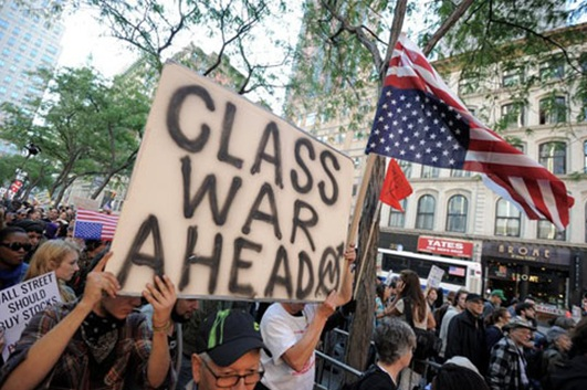 Nearly a Third of Occupy Protesters Advocate Violence wall16